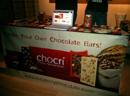 chocri Vinyl Banner by Build-A-Sign