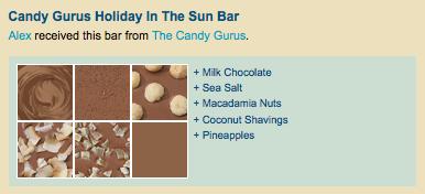 Blog Race Candy Gurus Bar 2