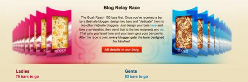 chocri Blog Race Screenshot