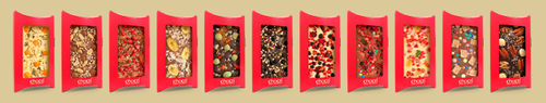 Customized chocolate bars from chocri