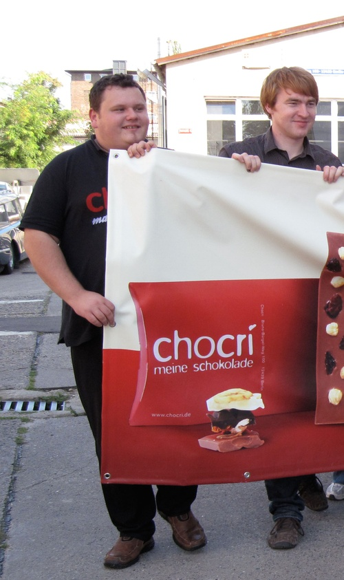 chocri founders Micha and Franz