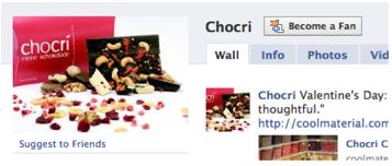 chocri on facebook