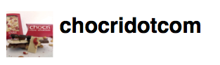chocri on twitter as chocridotcom