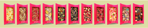 many chocri chocolate bars personalized with your name