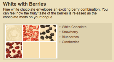 White and Berries Recommended Creation