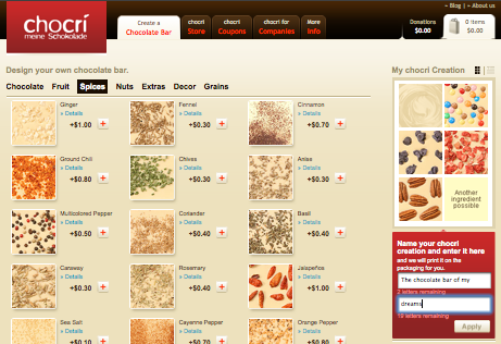 chocri preview website