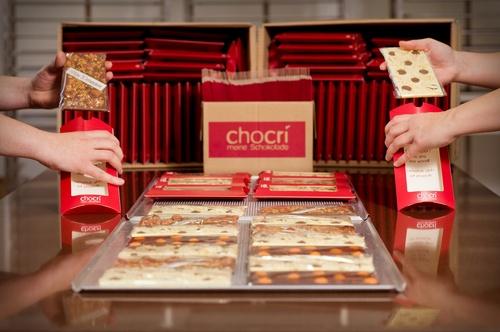 Packaging chocri
