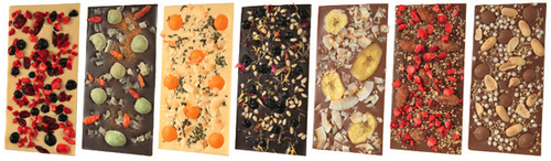 7 custom chocri bars