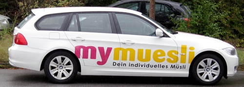 mymuesli's car